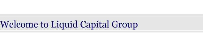 Welcome to Liquid Capital Group.